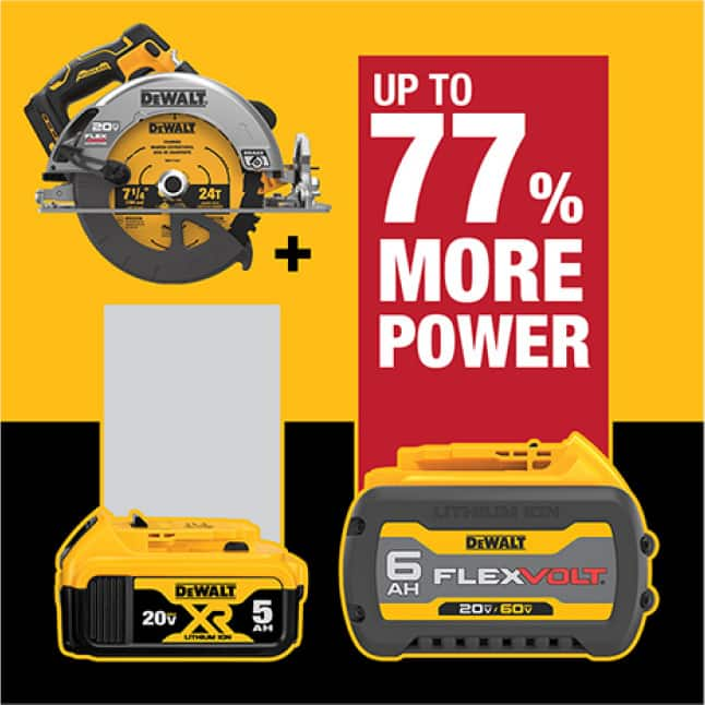 Get up to 77% more power