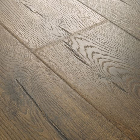 Ultra-realistic wood look flooring