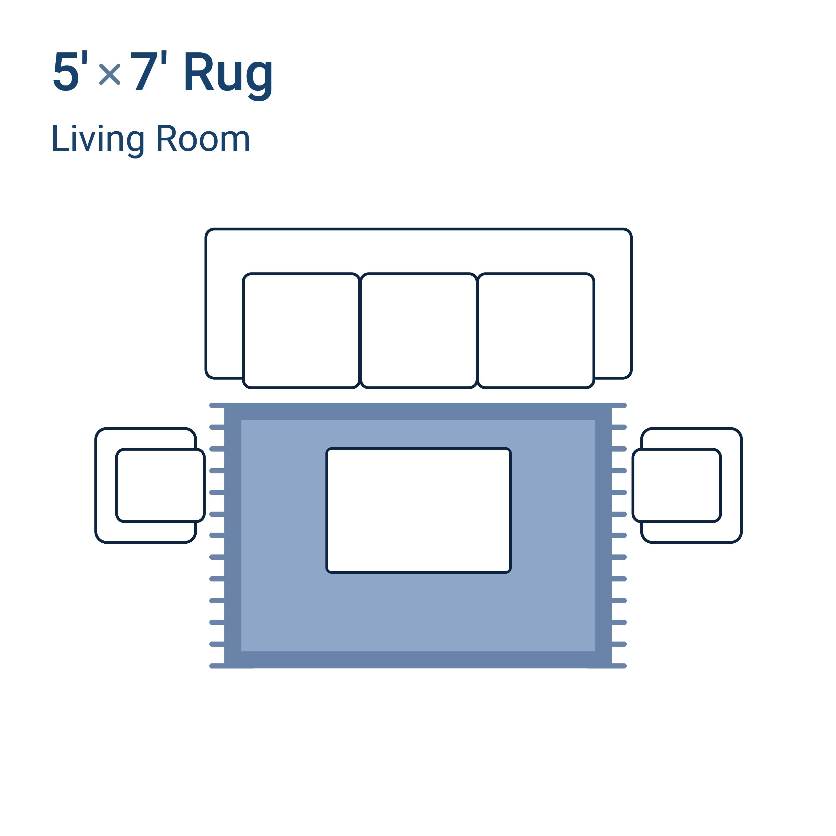 5' x 7' area rug
