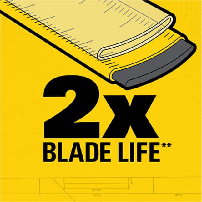33-425D 25 ft. PowerLock Tape Measure DURABLE BLADE COATING