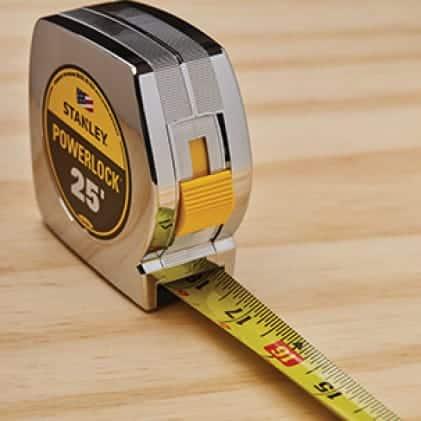 33-425D 25 ft. PowerLock Tape Measure SECURE BLADE LOCK