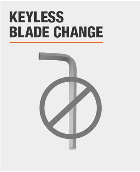 Keyless Blade Change
