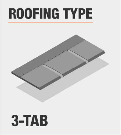 3-Tab Roofing Type