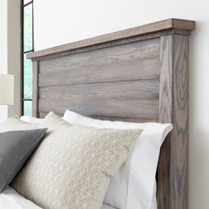 Water Based Poly Headboard