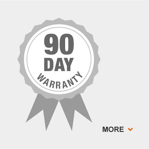 90 Day Grill Warranty.