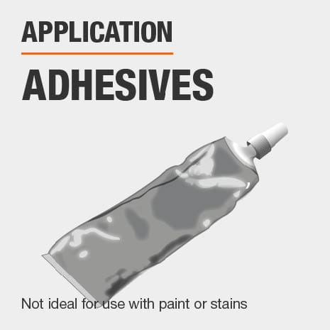 Best results when used with glues adhesives and paint removers