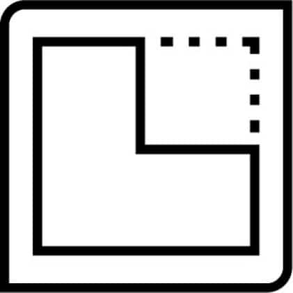 icon for easy to cut
