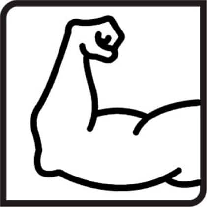 icon for compressive strength