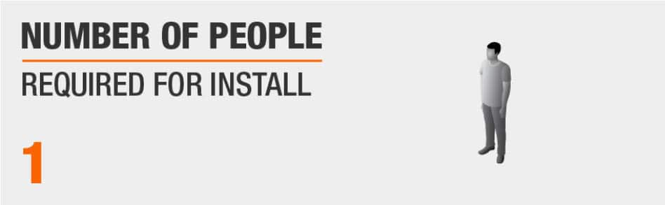 Number of People Needed for Install