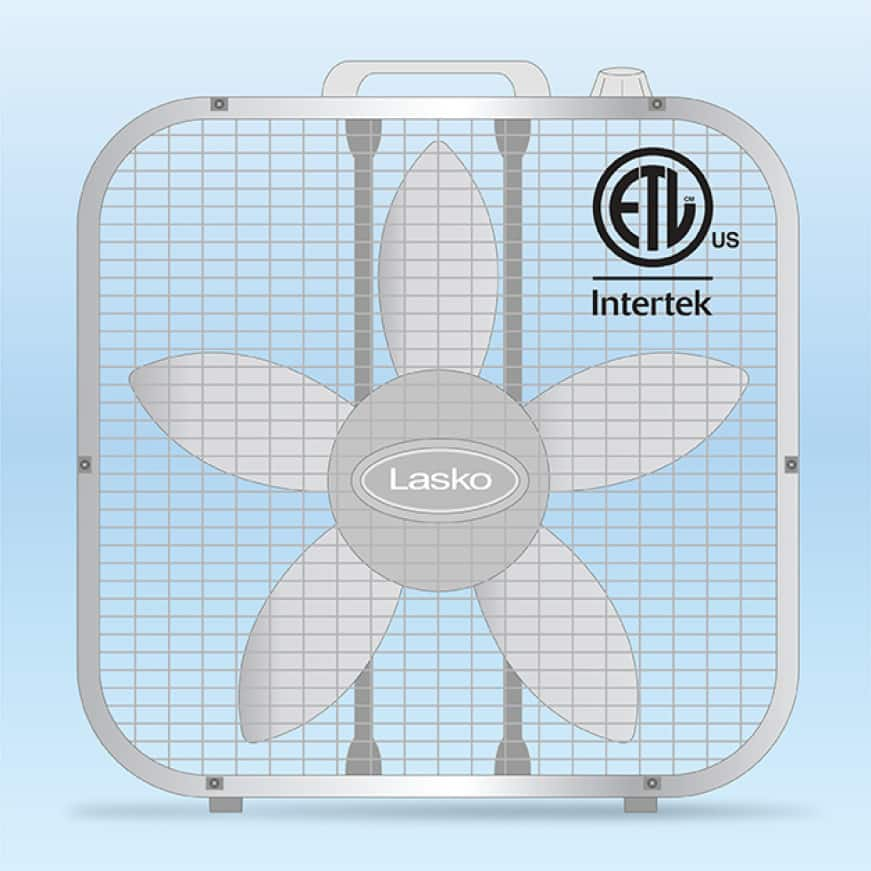 Air Circulating Box Fan