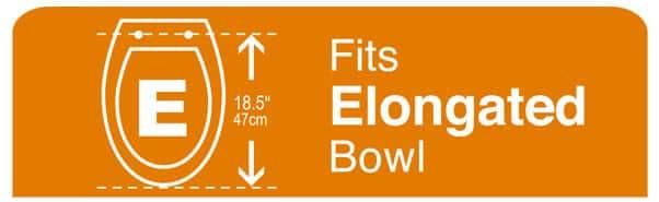 Fits Elongated Bowl
