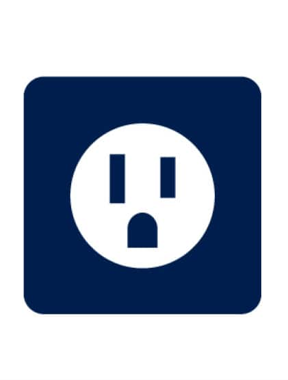 Wall outlet icon