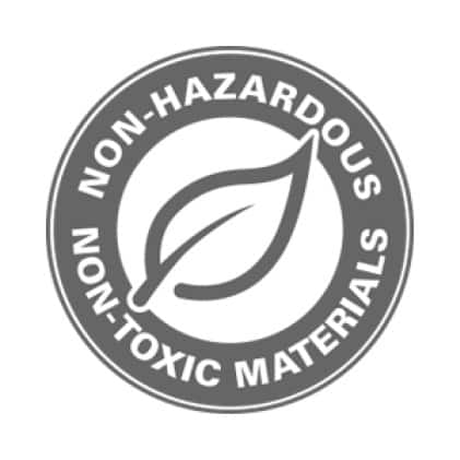 Use only with non-hazardous, non-toxic, non-flammable materials.