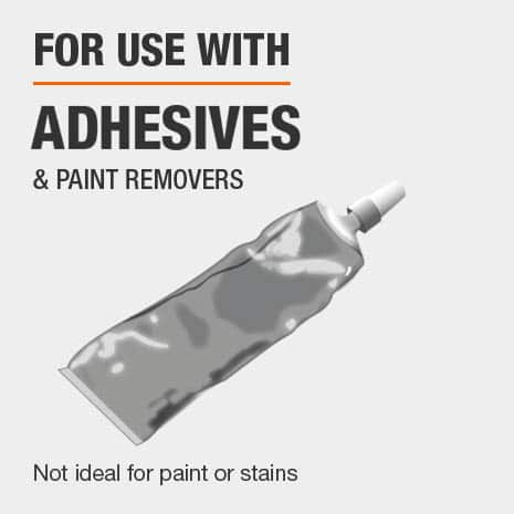 best for applying glues, adhesives, and paint remover