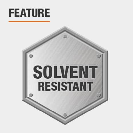 Solvent resistant bristles