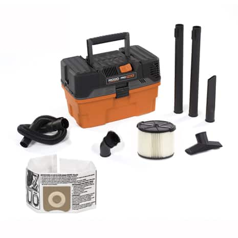 Includes 1-7/8 in. x 7 ft. Expandable Hose, 2 Extension Wands, Utility Nozzle, Dusting Brush, Crevice Tool, Standard Filter, Dust Bag
