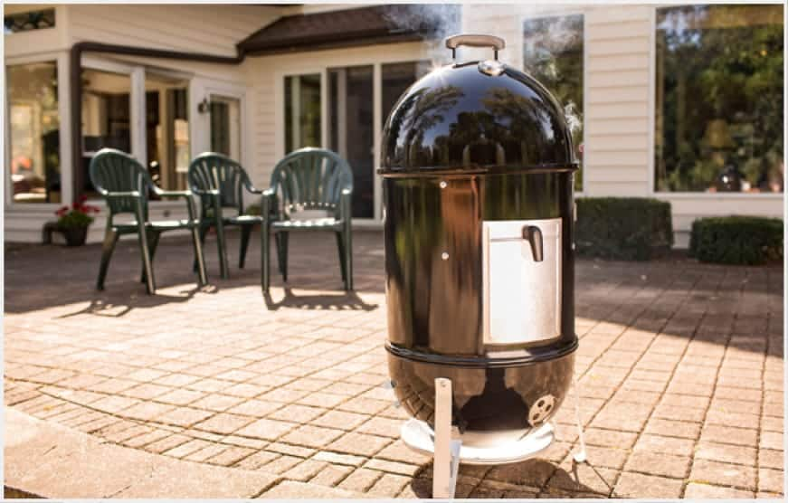 The Smokey Mountain Cooker™ smoker two cooking smoking multiple items easily adjustable dampers heat control.quite like waiting all day for dinner.