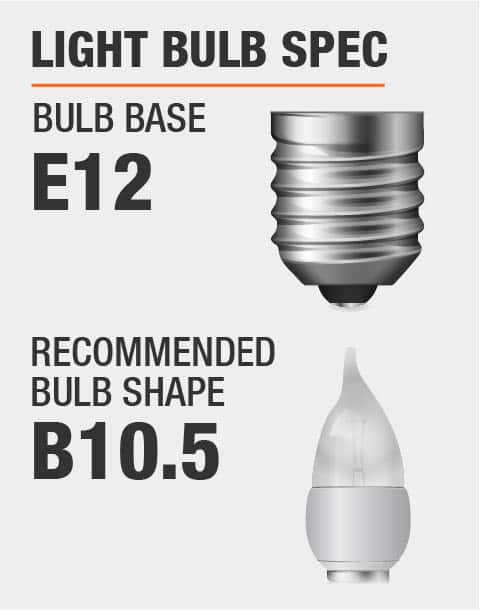 E12 Base B10.5 Bulb Recommended