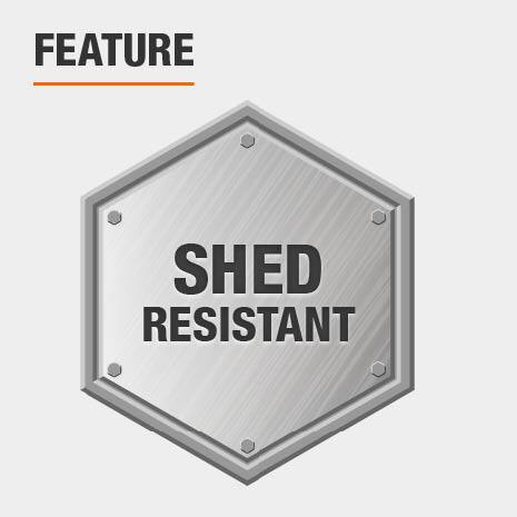 Shed resistant roller cover