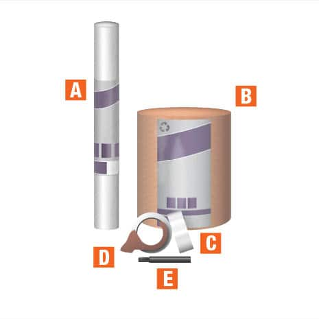 Moving box kits accessories