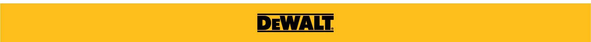 DeWalt Brand Banner
