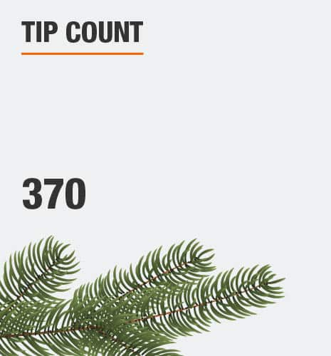 The tip count is 370