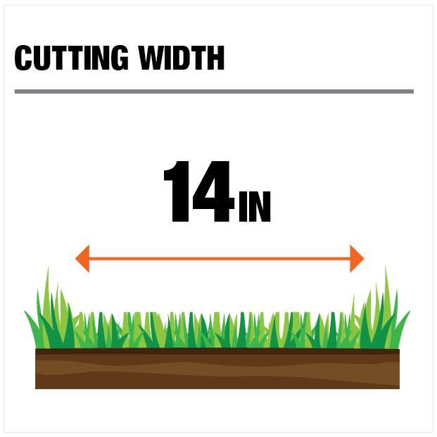 14in Cutting Width