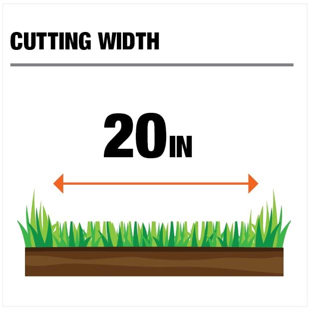 20in Cutting Width