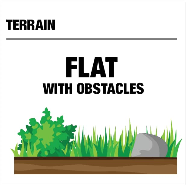 Terrain - Flat with Obstacles