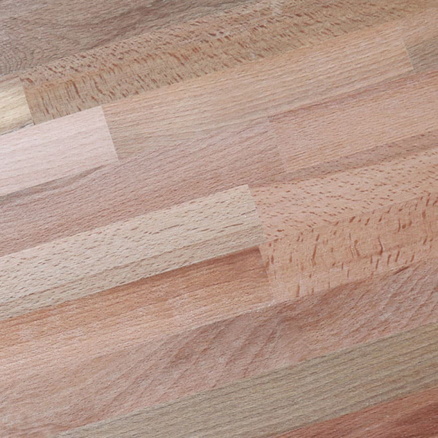 The original durability of your 100% Solid Beech Butcher Block can easily be sanded down and refinished at any time