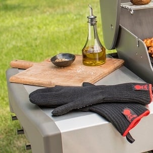 Side tables keep tools within arm's reach.