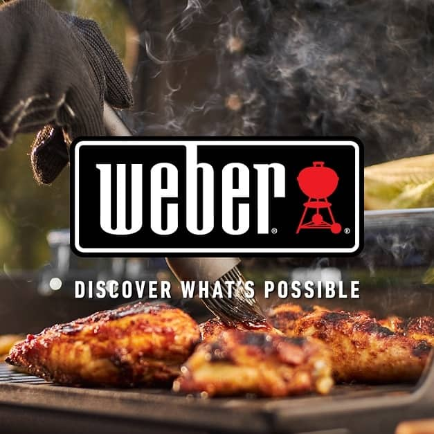 Grilling on a Weber
