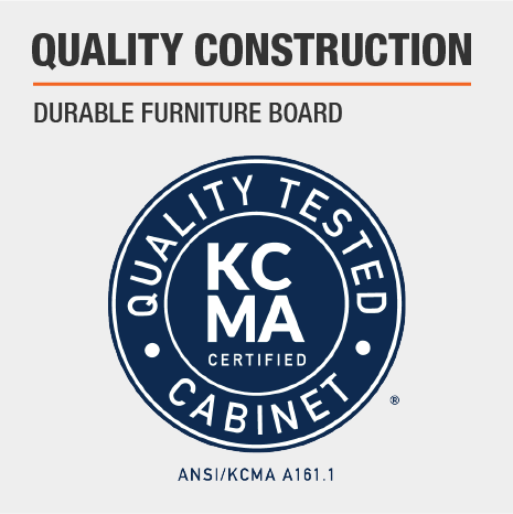 Furniture Grade KCMA Certified Cabinets