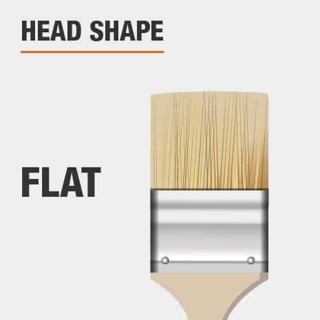 4 in. Flat Chip Brush