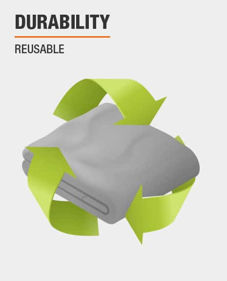 reusable drop cloth