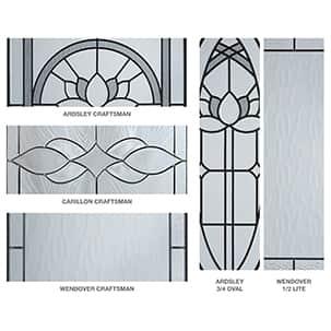 Illustration of door construction