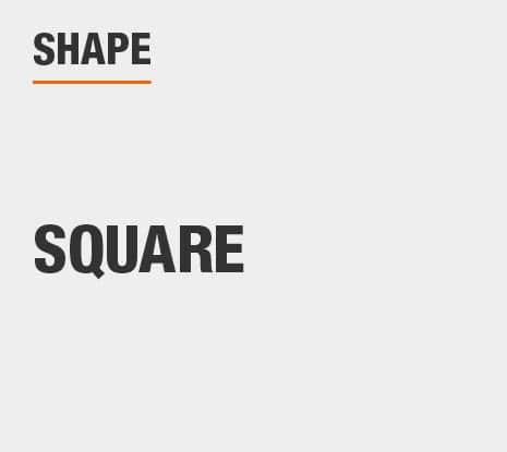 Product Shape: Square