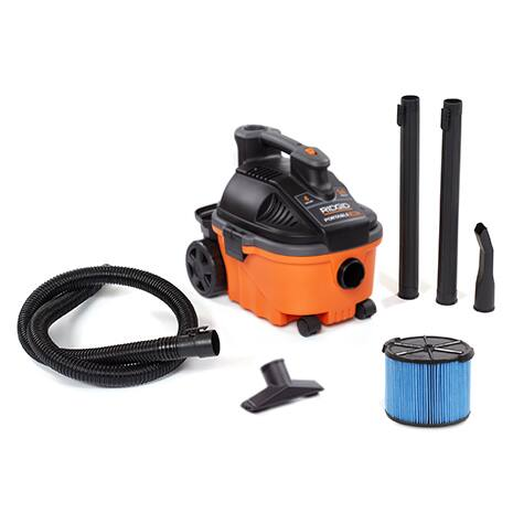 Includes 1-7/8 in. x 7 ft. Hose, 2 Extension Wands, Utility Nozzle, Car Nozzle, Standard Filter, Dust Bag