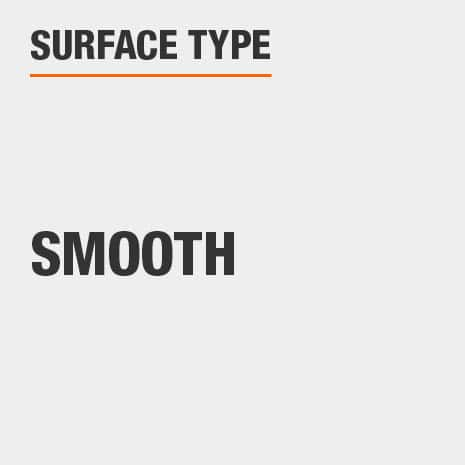 smooth surface for application