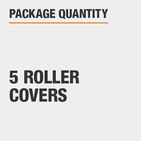 5 pack of 4 inch roller covers