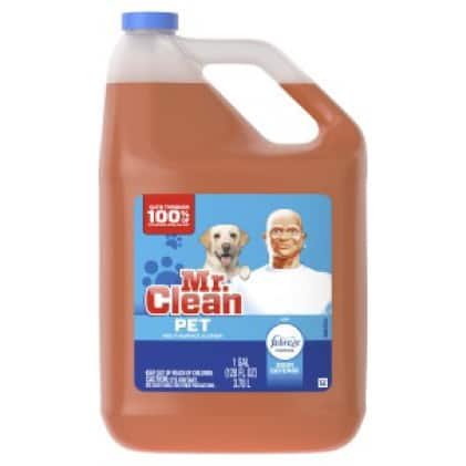Mr. Clean pet multi-purpose cleaner with Febreze
