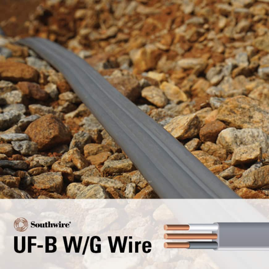 Underground-Feeder Building Wire and Cable Installation Information Available in a Variety of Gauges