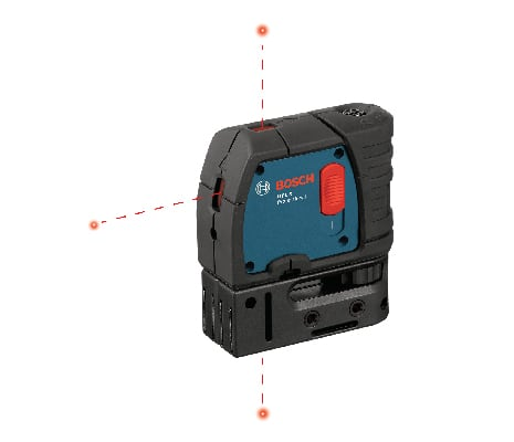 Product image of Bosch GPL3 with 3 points.