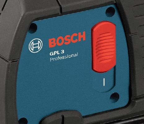 Close up of Bosch GPL3.