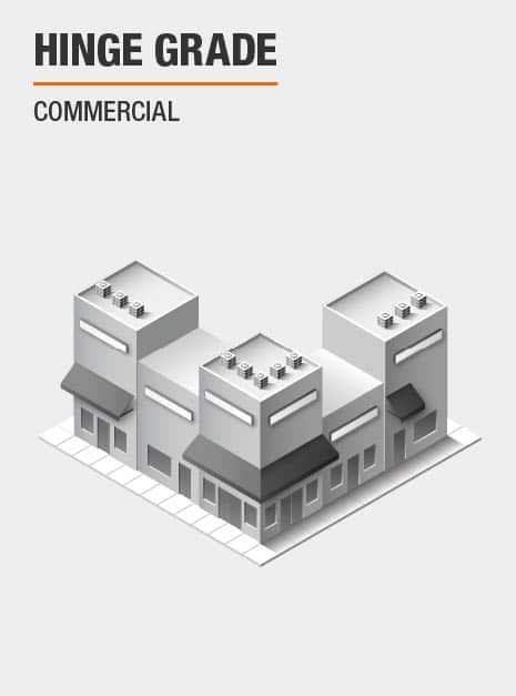 Commercial Door Hinge Grade