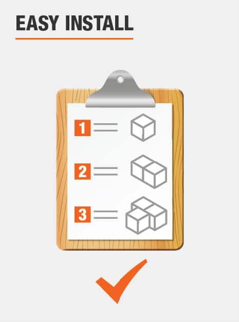 Door Hinge Easy Install feature