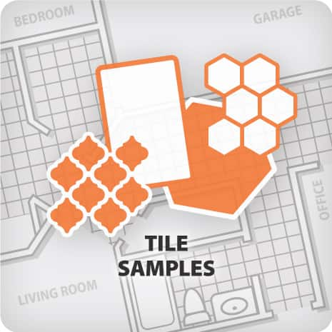Order a tile sample to help you find the perfect selection for your project.