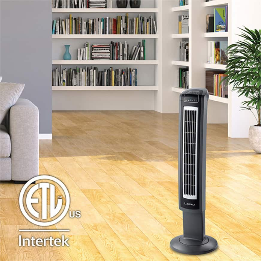 42 in. Tower Fan with Remote Control and Fresh Air Ionizer