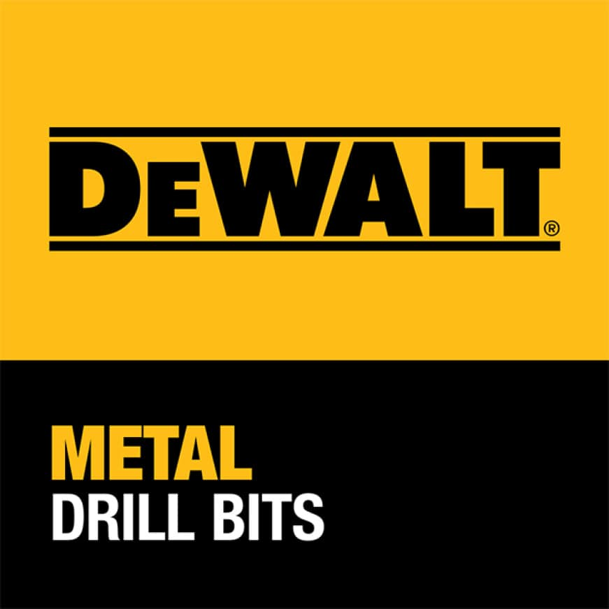202579651 DW1622  G 5/8 in. Black and Gold Drill Bit DEWALT GUARANTEED TOUGH
