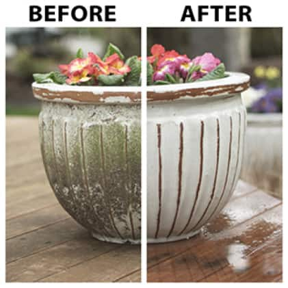 30 SECONDS Outdoor Cleaner Concentrate safe around plants, lawns, and landscaping